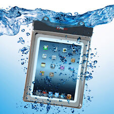 Proper Waterproof Case for 10 inch Tablets - iPad 2/3/4/air, Galaxy, Cello etc