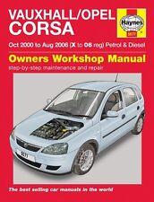 Haynes Manual Vauxhall / Opel Corsa Petrol & Diesel 2000-2006 5577 NEW