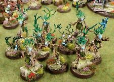 WARHAMMER AGE OF Sigmar sylvaneth PRO PAINTED Dryads x 10