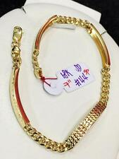 SOLID 18k Saudi Gold Bracelet - 7 inches /4.4 g