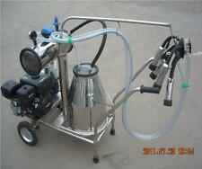 Portable Gasoline Vacuum Pump Milking Machine for Cows - Single - Factory Direct