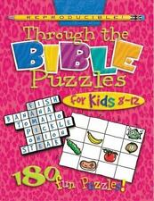 Through the Bible Puzzles for Kids 8-12 HeartShaper Reproducible