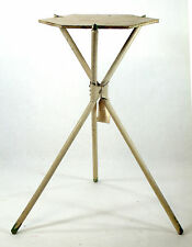 Folding 3 Three Legged Camping Stand Plant Stand Side Table Lamp Table 0051010