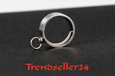 Anello in acciaio inossidabile con anello dell'o dimensioni 16-24