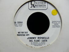 JIMMY ROSELLI This planet earth / who can say PROMO UA 50064