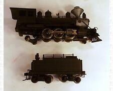 PFM United HO 2-6-2 Prairie King Steam Locomotive Black Japan Brass