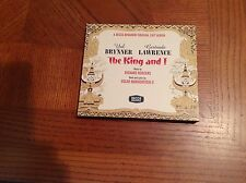 THE KING AND I CD YUL BRYNNER / GERTRUDE LAWRENCE ORIGINAL CAST ALBUM DECCA