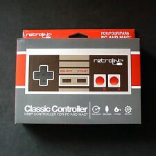 RetroLink NES Nintendo PC Mac USB Classic Controller RetroBit Gamepad Joystick