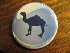 Camel Cigarettes Pocket Mirror - Repurposed Magazine Ad Logo Lipstick Mirror