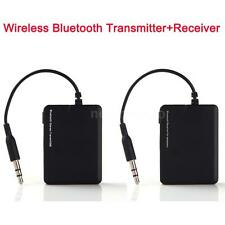 3.5mm Bluetooth A2DP Wireless Audio Stereo Dongle Receiver+ Transmitter MP3 iPod