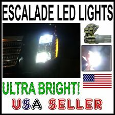 CADILLAC ESCALADE 194 T10 FRONT SIDEMARKER LED BULBS - THE BRIGHTEST ANYWHERE -