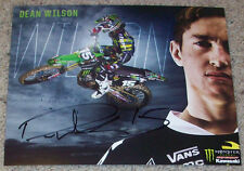 DEAN WILSON #15 SIGNED SUPERCROSS AMA MOTOCROSS 8x10 PHOTO E AUTOGRAPH