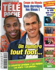 TELE POCHE N°2103 zidane thierry henry delphine chaneac 2006