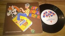 "7"" Werbe Nesquick - Hoppe Hoppe Reiter : Verse + Kinderlieder PRIVAT PR defekt!"