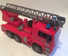 "vintage Bruder made in Germany large fire truck toy 18"" long"