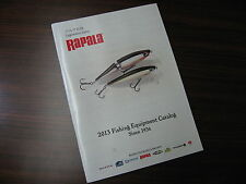 Rapala 2013 Fishing Equipment Catalog Since 1936.
