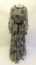Vintage Kati by Laura Phillips Floral Floaty Maxi Dress Size 8 10 Hippy Prairie