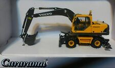 Atlas HO #30000094 Volvo EW180 Wheeled Excavator - 1:87 Scale - Yellow, Black