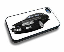 FORD SIERRA SAPPHIRE COSWORTH iPHONE 4/4s/5/5s/5c/6 PERSONALISED CLIP ON COVER