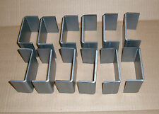 12-2x4 Steel Weld On Utility Trailer Truck Stake Pockets Trailer Parts Tie Downs