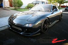 Mazda FD3S RX7 FEED Style FRP Side Skirts JM1FD FD Steps Splitter USA CANADA