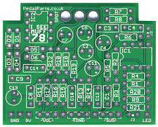 IC78 Big Muff PI - Pro Fabricated PCB for DIY Stompbox Build