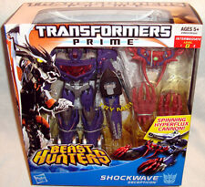 Transformers Prime Voyager Class Beast Hunters Shockwave Action Figure MIB Toy