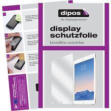 2x Apple iPad Pro Schutzfolie klar Displayschutzfolie iPad Pro 12,9 Folie dipos