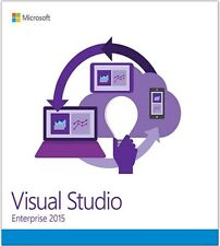 Microsoft Visual Studio 2015 Enterprise | Original Full Retail Media |