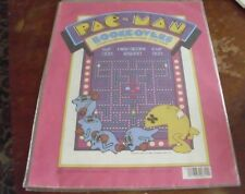 VERY RARE 1980 Pac - Man NOS Bookcovers 3  covers Pacman 14 1/4 x 22 inches