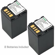 2x Kastar Battery for JVC BN-VF733 VF733U GR-D390 GR-D393 GR-D645 GR-X5 GZ-MG70