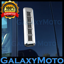 15-16 Ford F150 Truck Keypad Entry on Pillar Post Triple Chrome Trim Cover Kit