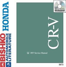 1997 Honda CR-V CRV Shop Service Repair Manual CD Engine Drivetrain Electrical