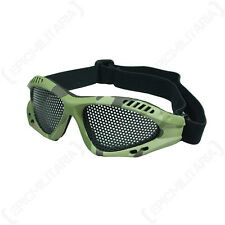 MULTITARN MESH GOGGLES - Camouflage Tactical Military Combat Airsoft Safety