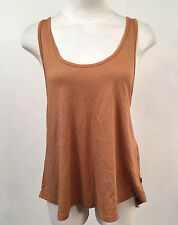 Obey Women's Tank Top Patti Autumn Leaf Size S NWT Shepard Fairey