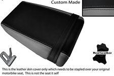 BLACK & GREY CUSTOM FITS KAWASAKI ZXR ZX R 400 88-90 REAR SEAT COVER