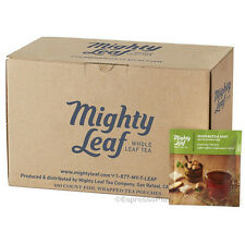 Mighty Leaf Marrakesh Mint Green Tea 100 Whole Leaf Tea Pouches
