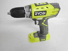 "Ryobi One Plus 18 Volt 1/2"" Lithium Drill/driver With LED Li-Ion, P208 P208B"