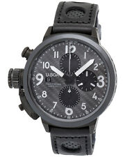 U Boat Flightdeck Automatic Chronograph Black Dial Men's Watch - 7116