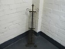 Free Standing Decorative Wrought Iron CD, DVD, Vinyl Stand