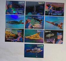 Unstoppable cards Thunderbirds 50 years 10 card reflecto-mirror chase set