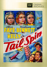 Tail Spin 1939 (DVD) Alice Faye, Constance Bennett, Nancy Kelly, Joan Davis -New