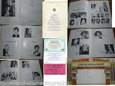 1980 Royal Variety Programme SIGNED AUTOGRAPH by 32 Sammy Davis Jnr. AFTAL