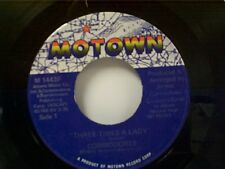 "COMMODORES ""THREE TIMES A LADY / LOOK WHAT YOU'VE DONE TO ME"" 45  MINT"