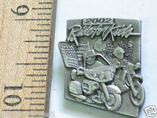 Ride For Kids Motorcycle Pin Badge (#063)