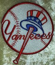 """New York NY Yankees  3.5"""" Iron On Embroidered Patch"""