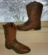 ARIAT Authentic WMN 7.5 SHORTIE Cowboy BOOTS Heritage Brown Distressed Rtl $160