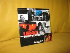 UB40 - TWENTYFOURSEVEN: PROMO CD /10 TRACKS (2008) RAINBOW NATION, LOST & FOUND