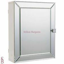 Heart of House Adjustable Shelf Mirrored Wall Cabinet - BNIB -  mirror cupboard