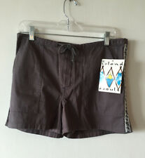 Women's Juniors Island Soul Drawstring Surf Shorts Size 9 NWT